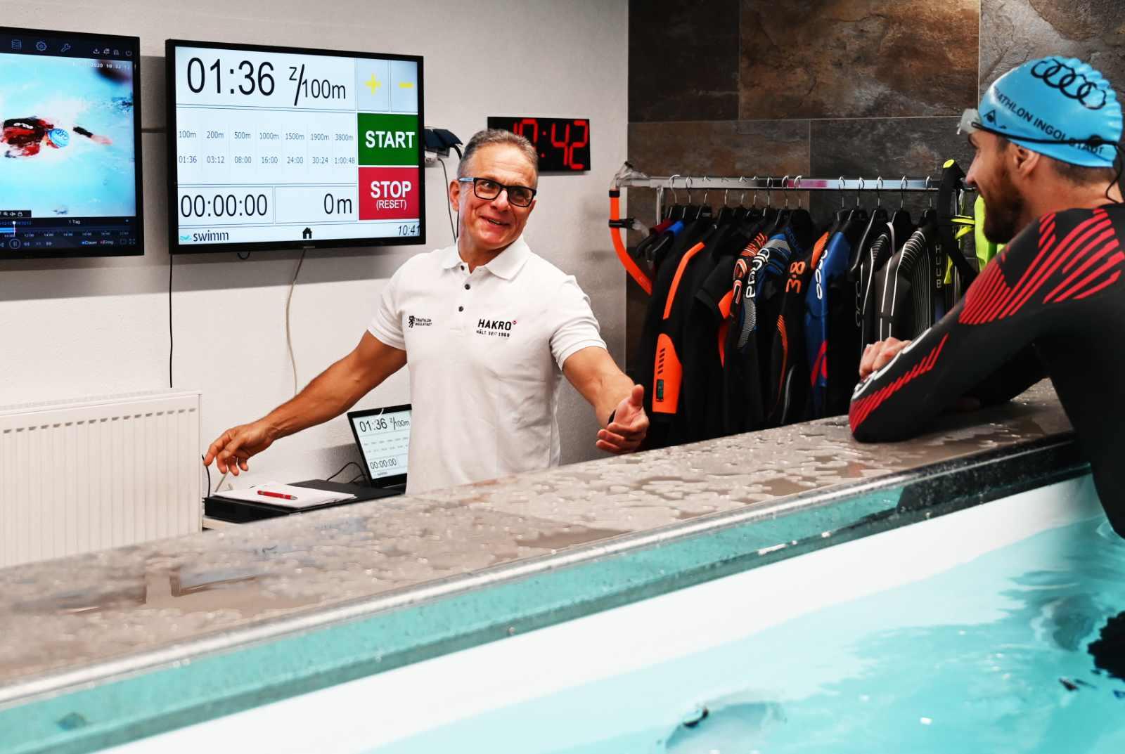 Schwimmkanal Ingolstadt Trainer